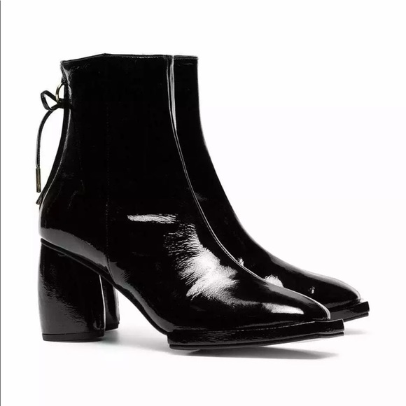 REIKE NEN Shoes - REIKE NEN patent leather ankle boots US 8